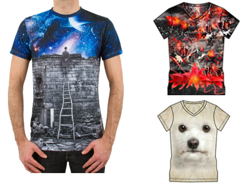 Wholesale Sublimation T-shirt