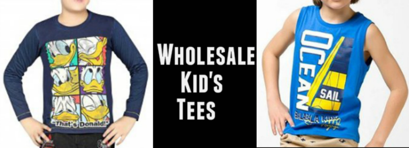 Wholesale Kids Tees