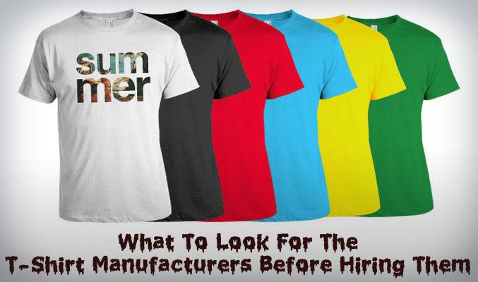 Wholesale T-shirt Manufacturers