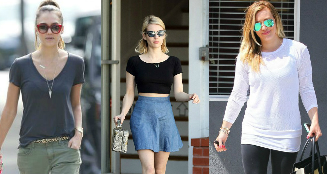 6 Hollywood Divas Who Love Their T-Shirts