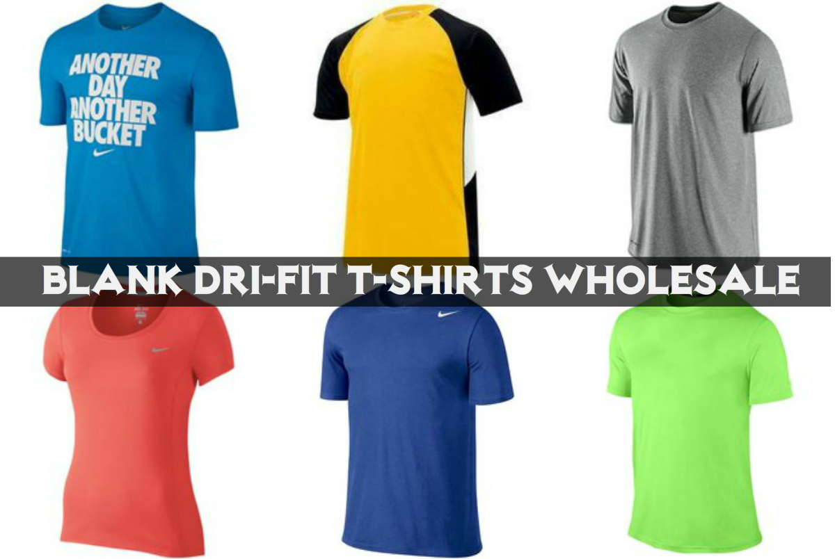 Blank Dry-Fit T-Shirts Wholesale