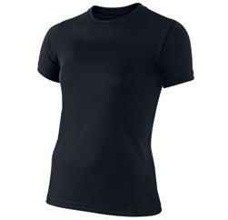 Classic Black Running Tee Manufacturers