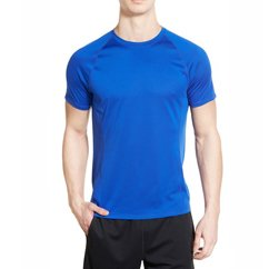 Royal Blue Men's Seamless t-shirt Wholesale