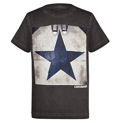 Big Star Grey Half Sleeve Boys' Tee Suppliers