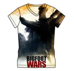 Bigfoot Wars Sublimated T-shirt Suppliers