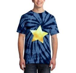 bright blue star ring tshirt supplier
