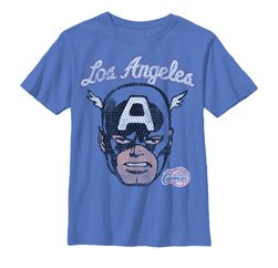 Captain America For LA T shirt Manufacturers