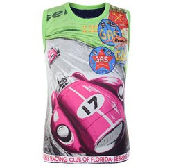 Color Burst Racer Sleeveless T shirt
