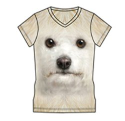 Cuddly Puppy Face T-shirt Wholesalers