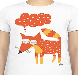 Cute Animal Graphic Print Tees Suppliers