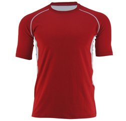 Dense Red And White T Shirt Suppliers