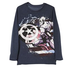Glancing Grey Boys Tee Wholesalers