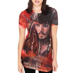 Pirates Of The Caribbean Printed Tee