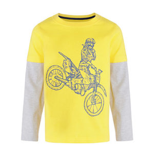 Jazzy Yellow Boys Tee Suppliers