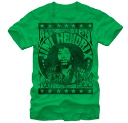 Jimi Hendrix Printed Tee Suppliers