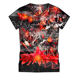 Jumble Print Sublimated Tee Manufacturers
