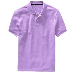 Lavender Half Sleeve Polo Shirt Manufacturers
