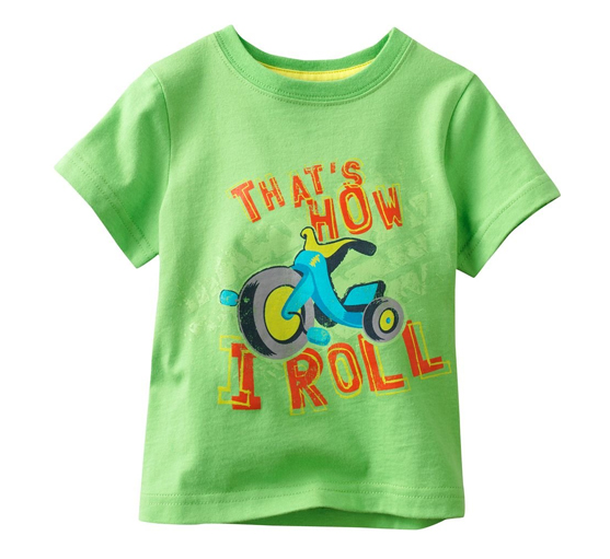 Lolly Green Roller Bike Tees Suppliers