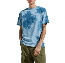 marble print blue pink tshirt wholesaler