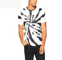 monochrome white splash t shirt wholesaler