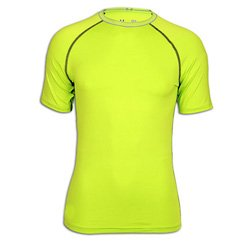 Neon Ventilated Compressed T-shirts Suppliers