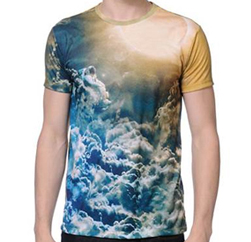 Oceanic Graphic Tee Suppliers