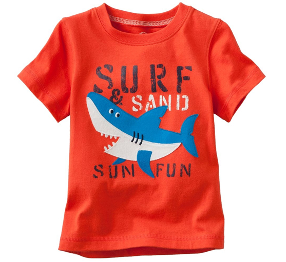 Orange Surf And Sand Tees Suppliers