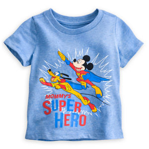 Powder Blue Mommy's Super Hero Tees Manufacturers