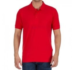 pure red polo tshirt-wholesale