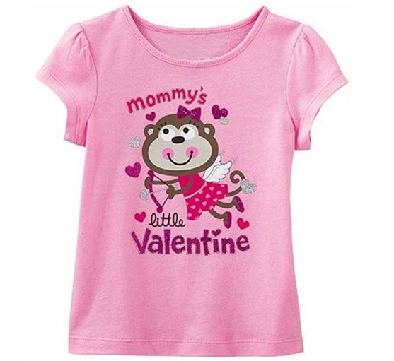 Raspberry Pink Mommy's Little Valentine Tees Manufacturers