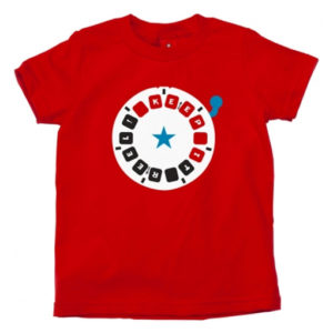 Red Dart Print Tees Manufacturers