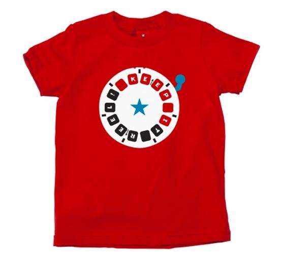Red Dart Print Tees Manufacturers
