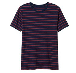 Red Striped Boys Tees Manufacturers