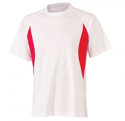 Rosy White And Red T Shirt Suppliers