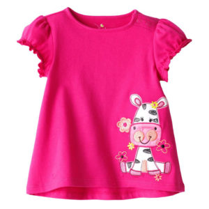 Scarlet Pink Baby Tees Manufacturers