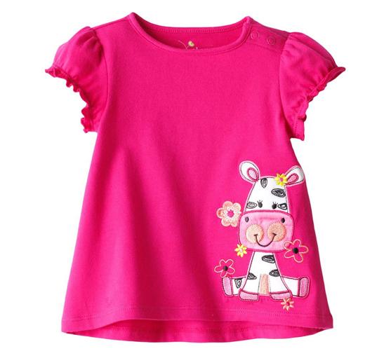 Scarlet Pink Baby Tees Manufacturers