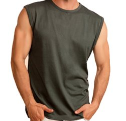 Seamless Cut Sleeve Camouflage Tee Manufacturers
