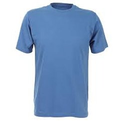 Skyline Blue Basic Blank T Shirt Manufacturers