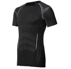 Sleek Black Running T shirt Manufacturers