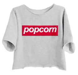 Smashing White Popcorn Print Girls' Tee Suppliers