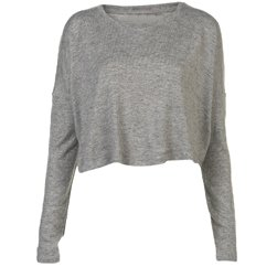 Soft Grey Crop Top Suppliers