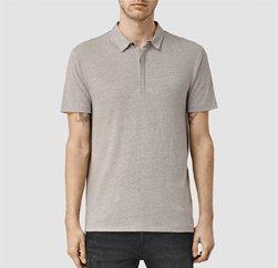 Soft Tinge Greyish Brown Polo T-shirt