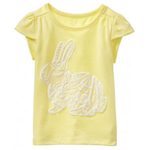 Soft Yellow Bunny Tees Suppliers