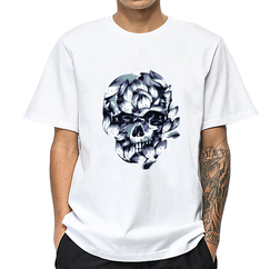Wholesale Springy White T Shirt