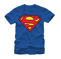 Superman Logo Sublimated T shirt Suppliers