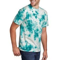 swirl print green and white tshirt wholesaler