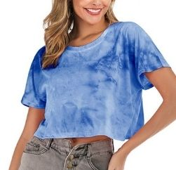 white and blue wave tshirt wholesaler