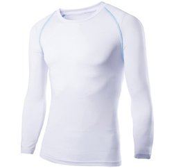 White Basic Compressed T-Shirt Suppliers