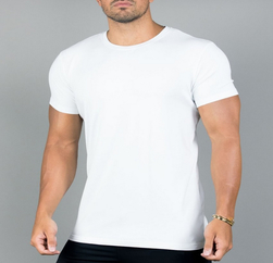 Wholesale Surround White Dry Fit T Shirt