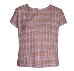 Wholesale Onion Pink Checked Top In USA, UK and Australia